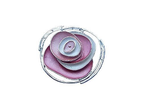 Brosche Magnetbrosche Schal Clip Bekleidung Poncho Taschen Stiefel Textilschmuck Blume Rose