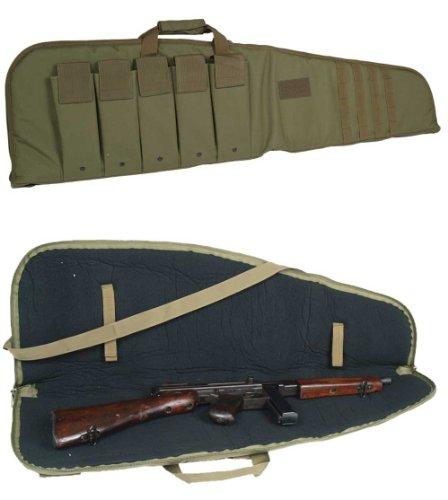 Étui pour fusil avec sangle de transport, OLIV, 120