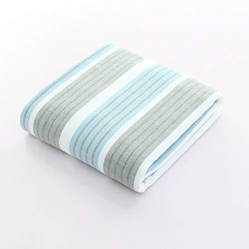 DSJDSFH handdoek van katoen, eenvoudig en comfortabel, 70 x 140 cm, absorberend, zacht