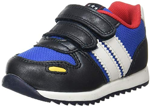 Beppi Unisex Baby Lauflernschuh, Blau, 21 EU