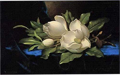 Kit de punto de cruz para niños principiantes-orquídea-cuadros de bordado de bricolaje kits de punto de cruz-bordado de punto de cruz bordado-decoración del hogar 40X50CM C 11CT lienzo preimpreso