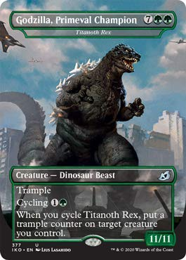 Magic: The Gathering - Godzilla, Primeval Champion - Titanoth Rex - Ikoria: Lair of Behemoths