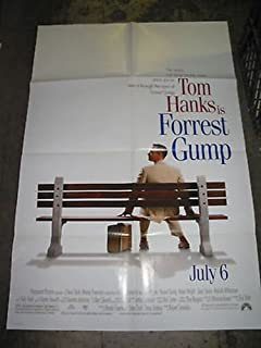 FORREST GUMP / ORIGINAL U.S. ONE-SHEET MOVIE POSTER (TOM HANKS)