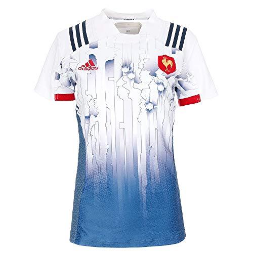 adidas Damen FFR Frankreich Heimtrikot, Corblu/White, M