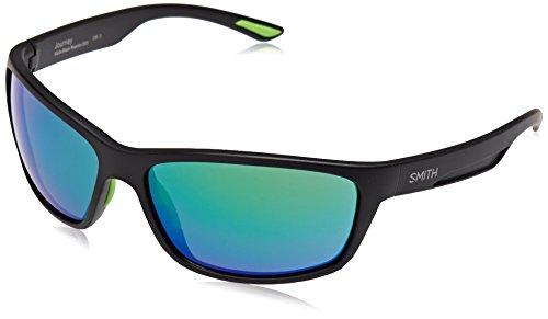 Smith Unisex-Erwachsene Journey Z9 003 63 Sonnenbrille, Schwarz (Matt Black/Grey)