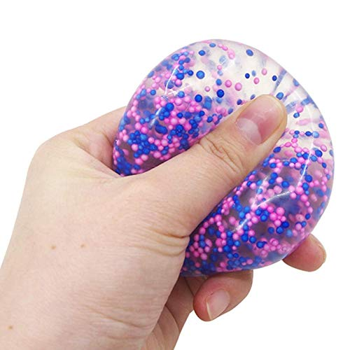Mimei Squeeze Ball Fidget Speelgoed Multicolor Stress Ballen Stretchy Ball Stress Reliever Autisme Speciale Noden Beter…