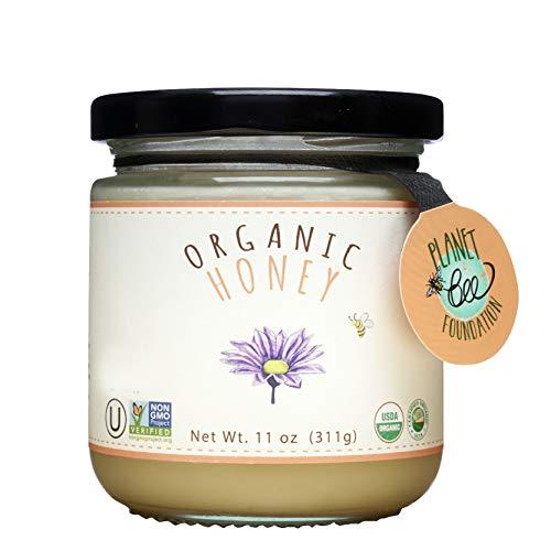 GREENBOW Organic Honey - 100% USDA Certified Organic, Gluten Free, Non-GMO Organic Honey - Highest Quality Whole Food Organic Honey – 11oz (311g)