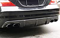 W 219のための未塗装のFRP後部アドオンバンパーディフューザー/UNPAINTED FRP Rear Add-On Bumper Diffuser For W219 CLS AMG CLS55 CLS63 2006-2010