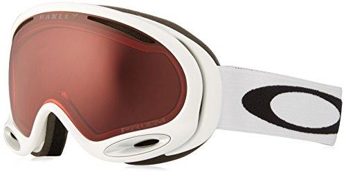 Oakley Erwachsene Snowboardbrille A Frame 2.0 Injected Man Google, POLISHED WHITE, EL. ADJUSTABLE