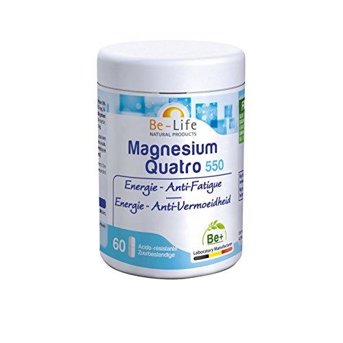 Be-Life Magnesium Quatro 550 - 60 gél.