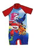 Lora Dora Super Wings Traje de baño para niños - Rojo - 18-24 Meses