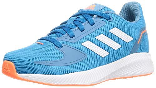 adidas Runfalcon 2.0, Sneaker, Solar Blue/Footwear White/Hazy Blue, 28.5 EU