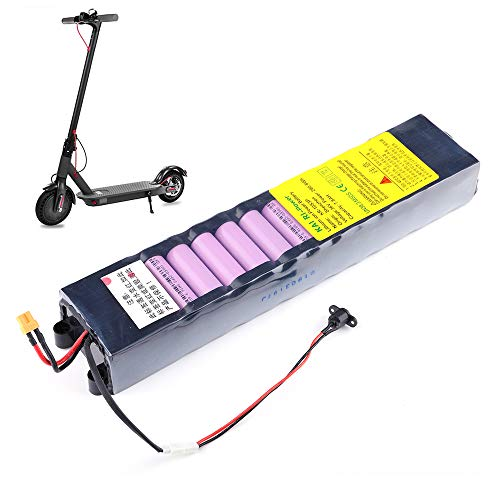 Walmeck- 36V 7800mAh Lithium Battery Rechargeable Replacement Battery for Smart Foldable Electric Scooter