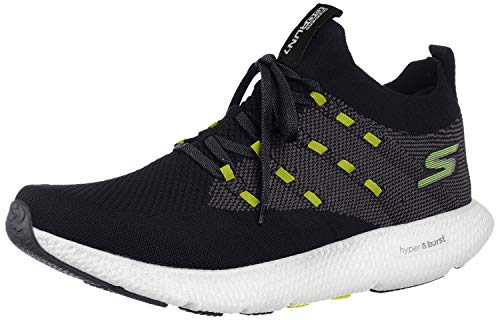 Skechers Mens GOrun 7 Black/White Sneaker - 11