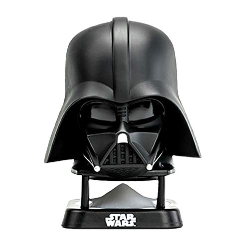 KHHK Star Wars Darth Vader Casco Altavoz Bluetooth Inalámbrico Mini Altavoz Subwoofer de Graves Mejorado