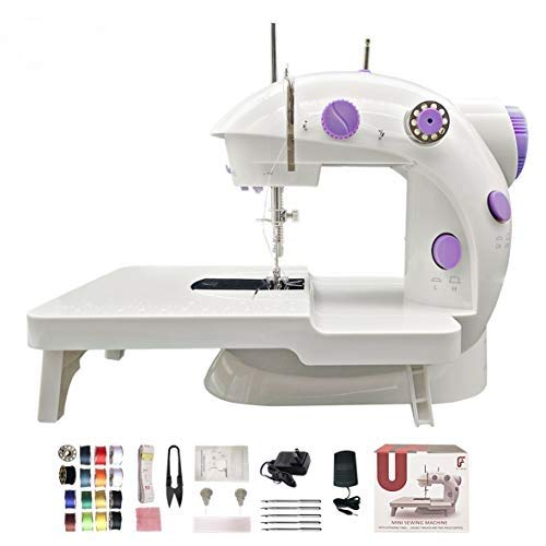 FLYMAN Upgraded Superior Quality Mini Sewing Machine with Full 32 Pack