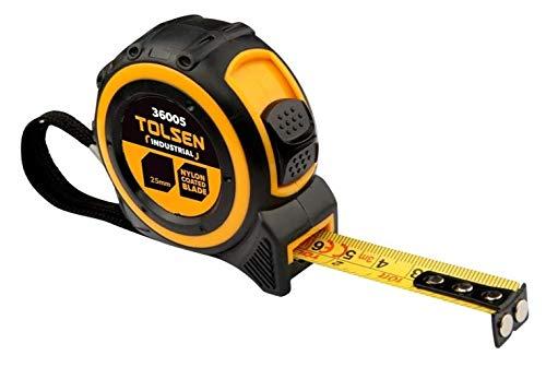 Tolsen 5m Tape Measure (Industrial Spec)