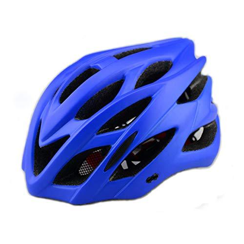 Casco para bicicleta CE advertencia de luz trasera peso ligero proceso de...
