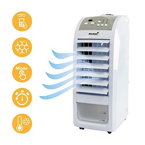 classement un comparer Refroidisseur d'air MaxxHomeAC70, ventilateur, économique, 75 W, volume d'air 400 m³ / h,…