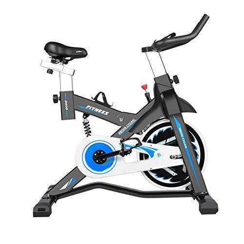 CHNG Bicicleta estática para Interiores, Bicicleta silenciosa para el hogar con Resistencia al magnetrón, para Entrenamiento Cardiovascular en el hogar