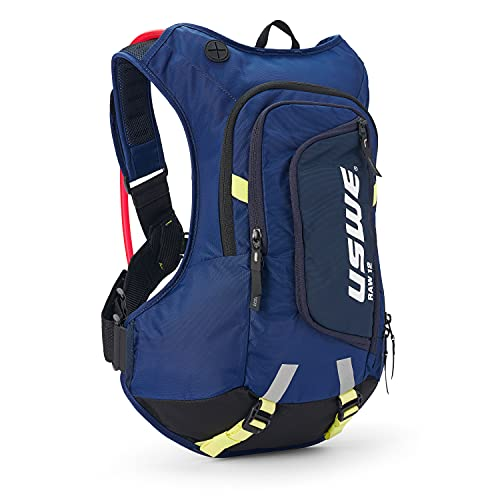 USWE Raw 12L Hydration Pack with 3.0L/ 100oz Water Bladder, a High...