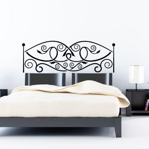 Ambiance-Live adhesivo decorativo para pared Cabecero de cama, chocolate, 150 X 55 cm