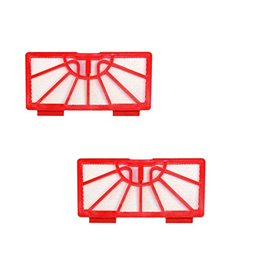 HQRP 2-Pack Filters for Neato Robotics Standard Replacement Vacuum Filter Coaster