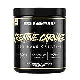 Creatine Carnage by Anabolic Warfare – Creatine Powder to Help Build Lean Muscle and Aid Endurance...