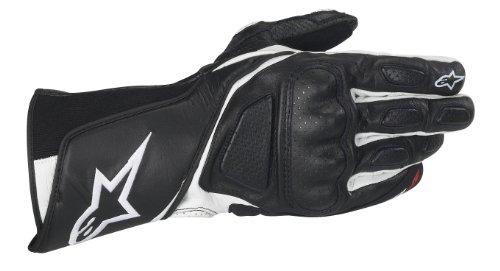 Alpinestars SP-8 Sporthandschuh, Farbe schwarz-Weiss, Größe M / 8
