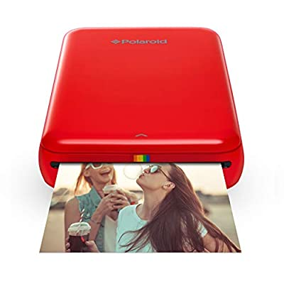 Polaroid ZIP Wireless Mobile Photo Mini Printer (Red) Compatible w/ iOS & Android, NFC & Bluetooth Devices from Polaroid