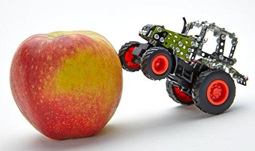 RC Auto kaufen Traktor Bild 5: Tronico 09501 - Metallbaukasten Traktor Claas Axion 850 mit Kippanhänger und Fernsteuerung, Maßstab 1:64, Micro Serie, grün, 462 Teile*