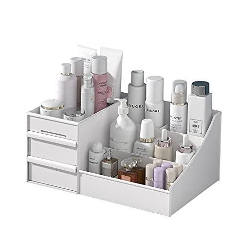 OsiliviA Rangement Maquillage Organisateur Maquillage,Plastique Rangement Maquillage Tiroi pour...