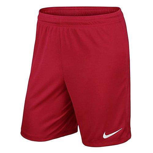 Nike Yth Park II Knit Short Nb, Pantalón Corto, Niños, Rojo (University Red/White), L