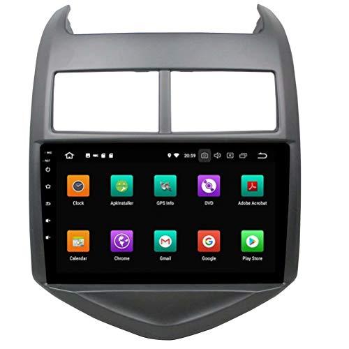 Autoradio ROADYAKO Double Din Android 8.0 stéréo pour Chevrolet Aveo 2011 2012 2013 2014 2015 GPS Navigation 3G Lien Miroir RDS FM AM Bluetooth AUX Audio Vidéo