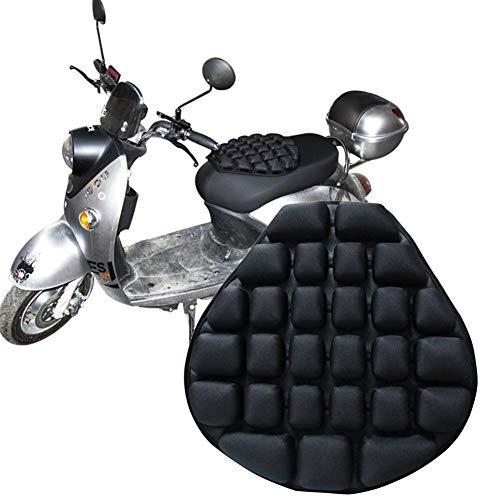 Motorrad Sitzkissen, Air Fillable Seat Pad, Druckentlastung Motorrad Kissen Für Komfortables Reisen Druckentlastung Für Sport Touring Die Meisten Sitze