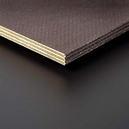 Siebdruckplatte 12mm Zuschnitt Multiplex Birke Holz Bodenplatte 100x100 cm