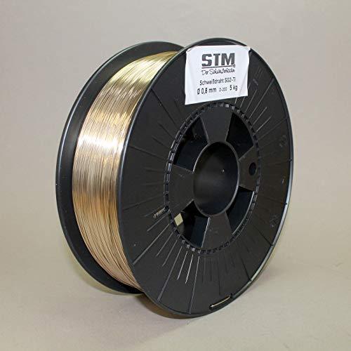MIG SG2 Ti 1 kg 0,8 - Alambre de soldadura de gas protector
