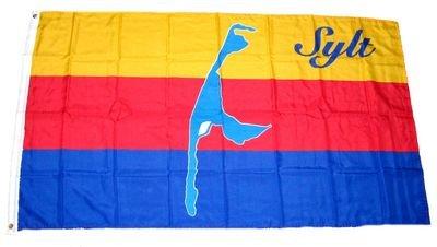 Fahne / Flagge Sylt NEU 90 x 150 cm Flagge