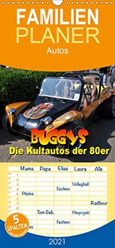 Buggys - die Kultautos der 80er - Familienplaner hoch (Wandkalender 2021 , 21 cm x 45 cm, hoch): Mit dem Kult-Klassiker der 80er durch das Jahr (Monatskalender, 14 Seiten ) (CALVENDO Mobilitaet)