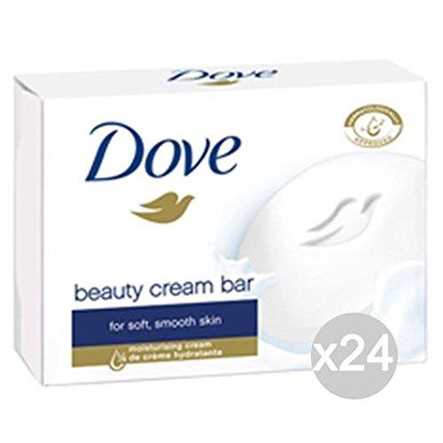 Lot de 24 savons Dove x 2 crème d'origine soin et nettoyage du corps