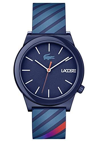 Lacoste Reloj Análogo clásico para Hombre de Cuarzo con Correa en Silicona 2010934