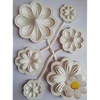 Stafil - Juego de 3 moldes para margaritas Art.31205
