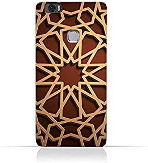 AMC Design Huawei Honor Note 8 TPU Silicone Case with Arabic Geometric Pattern