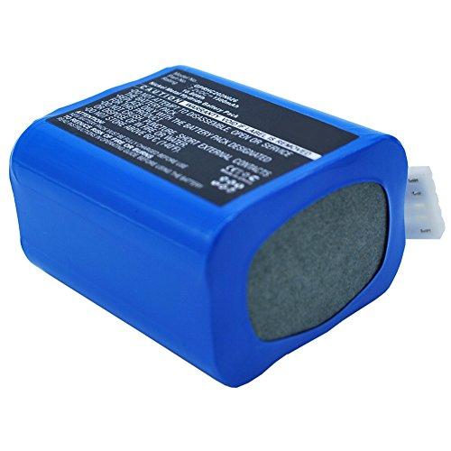 subtel® Batería Premium 7.2V, 1500mAh, NiMH Compatible con iRobot Braava 380 Braava 380T, 4409709, GPRHC202N026, W206001001399 bateria Repuesto aspiradora Pila reemplazo sustitución