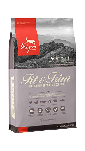 ORIJEN Dry Dog Food, Fit & Trim, Biologically Appropriate & Grain Free