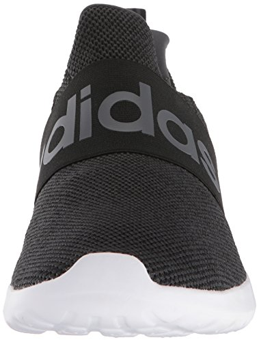 adidas Men's Lite Racer Adapt Running Shoe, Black/Core Black/Grey, 9 M US 2