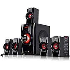 Hdtv, iPod, game console, DVD player, just Plug in your entertainment gear and you can immerse yourself in big 5.1 surround sound-even from your 2-channel stereo music, movie and game track Equipped with Bluetooth, so you can connect wirelessly from ...