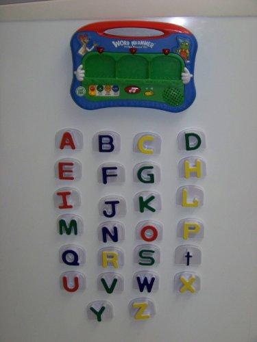Leapfrog Word Whammer Fridge Phonics Magnetic Alphabet Set Lot Letters,sounds