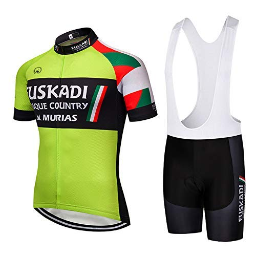 TOPBIKEB Ciclismo Maillot Hombres Jersey y Pantalones Cortos Culot for MTB