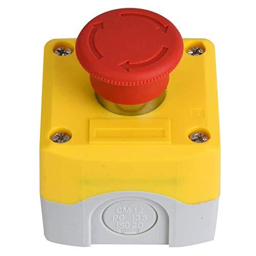 Interruptor de emergencia a prueba de agua IP65 SP-A001 ABS a prueba de polvo aislado para trabajar bajo -40 ℃ ~ 120 ℃ Entorno para metalurgia